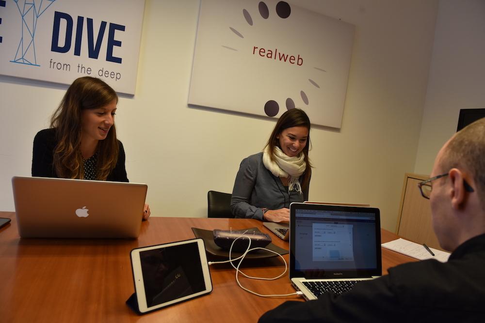 Team di Real Web, agenzia di digital Marketing a Trento