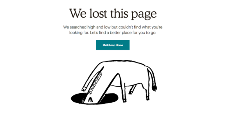 404 Mailchimp